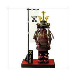 Miniatura samuraj w zbroi Motonari Mori SB-9