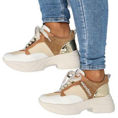 Damskie obuwie sportowe WONDERS Tymoteo - sklep obuwniczy