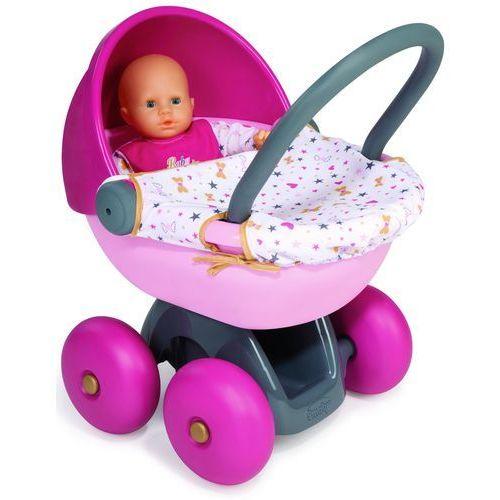 Smoby Baby Nurse Wózek dla lalki głęboki 24668 (3032162203125)