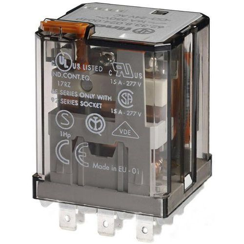15f58acc6ef99 Przekaźnik mocy 16A 2 CO (DPDT) 24 V AC Finder 62.32.8.024.