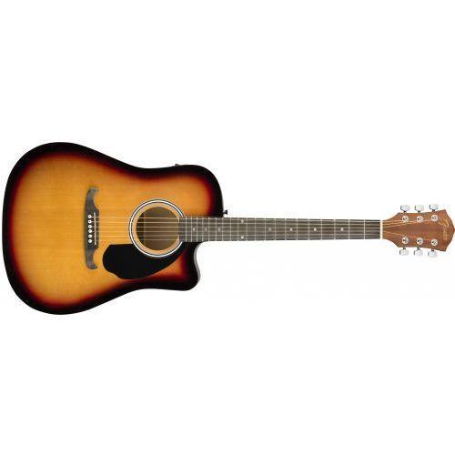 Fender fa-125ce dreadnought sb gitara elektroakustyczna