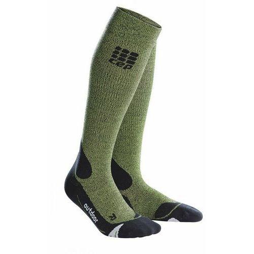 Cep Skarpety progr+ outdoor merino socks men brown/black rozmiar iii