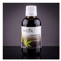 OLEJ KONOPNY Z CBD, 50ML India Cosmetics