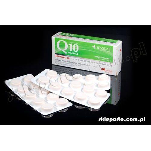 Pharmasis konezym q10 sensitive - tabletki do ssania optymalne przyswajanie dla zdrowych zębów i dziąseł