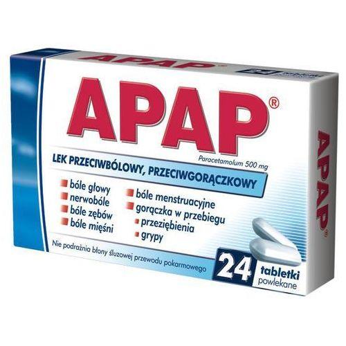 Tabletki Apap tabletki 0.500 x 24
