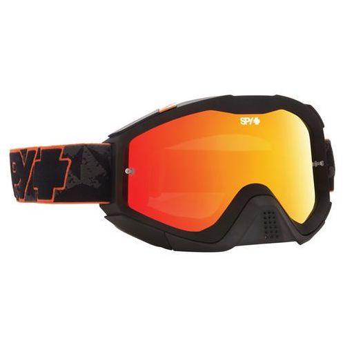 Spy Gogle narciarskie klutch orange highlighter-smoke w/red spectra+clear afp