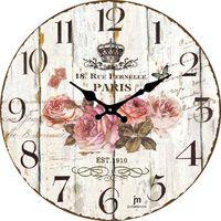 Lowell Designowy zegar ścienny 14852