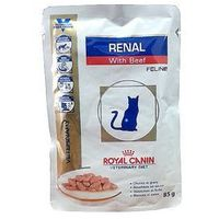 Royal canin renal with beef - saszetka 12x85g - 12x85g
