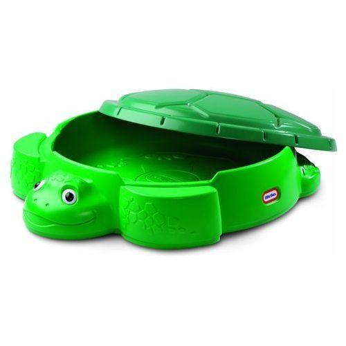 Little tikes Piaskownica żółw zielona
