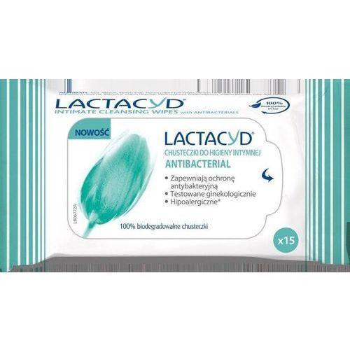 Lactacyd antibacterial chusteczki x 15 sztuk Glaxosmithkline
