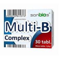 Tabletki Multi B Complex 30 tabletek -Sanbios