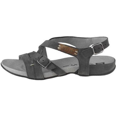Sandały letnie Nessi 49804, kolor szary