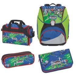 Scout alpha plecak z akcesoriami szkolnymi, 4-częściowy - drużyna piłkarska