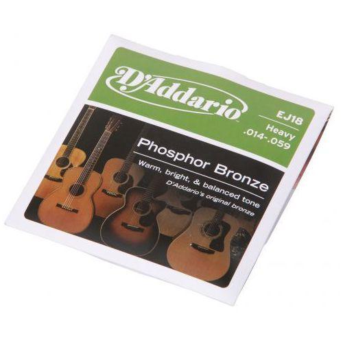 D′Addario EJ-18 struny do gitary akustycznej Phosphor Bronze 14-59