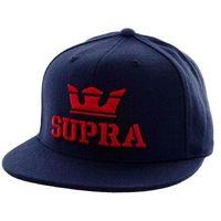 czapka z daszkiem SUPRA - Above Snap Accs Navy/Red (NRD)