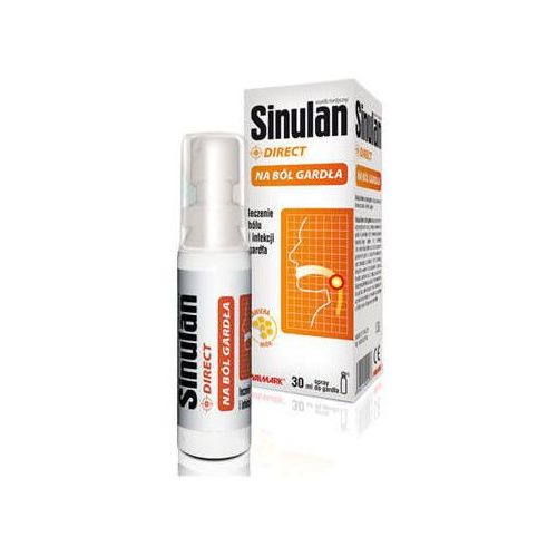Sinulan Direct Spray na ból gardła 30ml