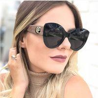 Okulary przeciwsłoneczne damskie czarne kocie oko