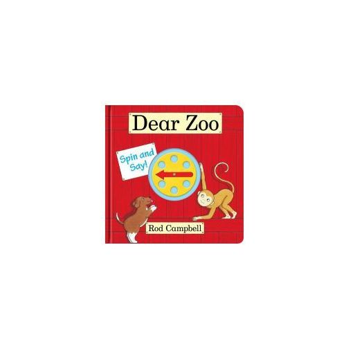 Dear Zoo Spin and Say (9780230770195)