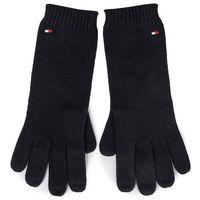 Rękawiczki Damskie TOMMY HILFIGER - Flag Knit Gloves AW0AW07197 BDS