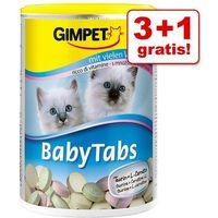 3 + 1 gratis! Gimpet Baby Tabs dla kociąt, 4 x 240 g - 4 x 240 sztuk