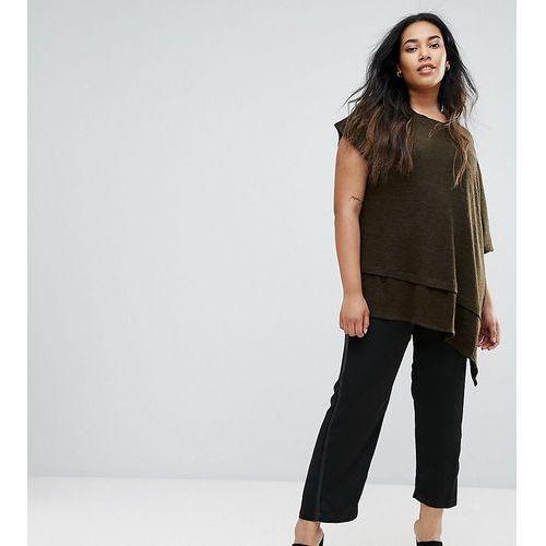 Slim fit reptile detail trousers - black Elvi