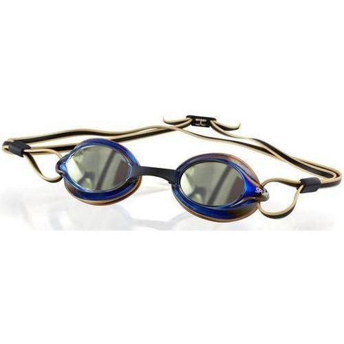 Okulary SPURT R-7 AF Mirror Squall Złoty