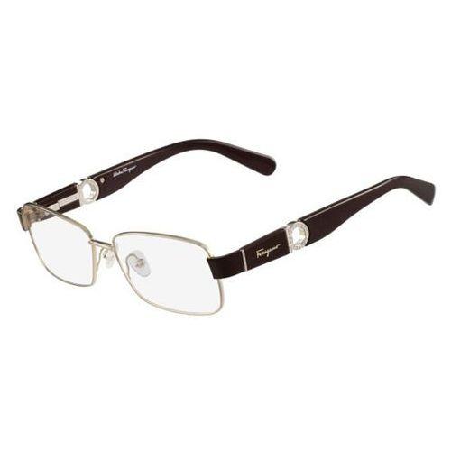 Salvatore ferragamo Okulary korekcyjne sf 2151r 745