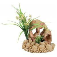 Zolux dekoracja skała z rośliną t3 - darmowa dostawa od 95 zł!