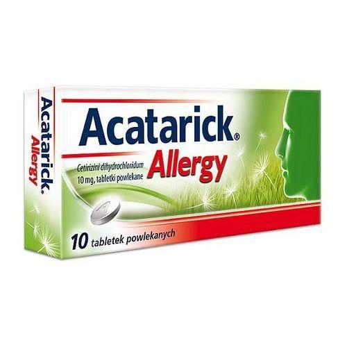 Acatarick Allergy tabl.powl. 0,01 g 10 tabl. (5909990809943)