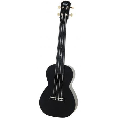 Korala puc 20 blk ukulele koncertowe poliwęglan, kolor czarny
