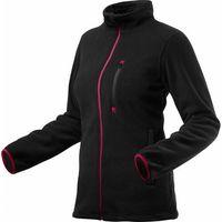 Bluza polarowa damska, czarna, rozmiar XXL 80-500-XXL