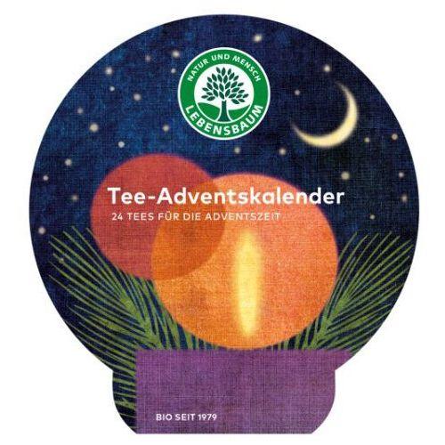 Lebensbaum (przyprawy, herbaty, kawy) Kalendarz adwentowy (herbaty) bio (24 sztuki) 42 g - lebensbaum