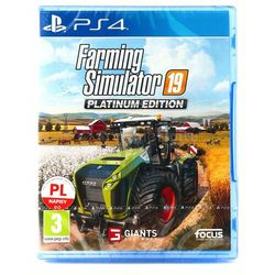 Focus home interactive Farming simulator 2019 pl ps4 +dlc -darmowa wysyłka-