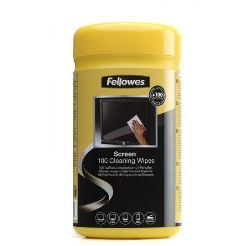 Ściereczki nasączone do ekranów Fellowes - tuba 100szt., 9970330