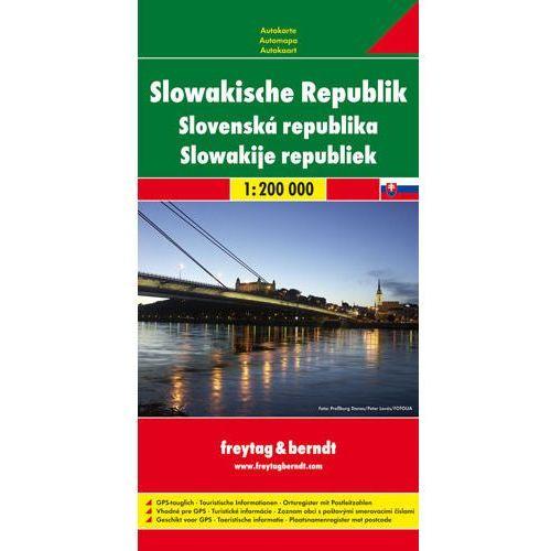 Freytag & Berndt Autokarte Slowakische Republik. Slovenská republika. Slowakije republiek; Slovak Republic; Slovaquie République (9783707904710)