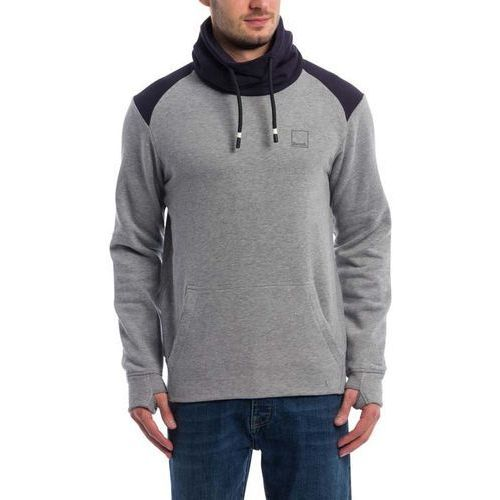 Sweter - her. colorblock funnel winter grey marl (ma1054) marki Bench