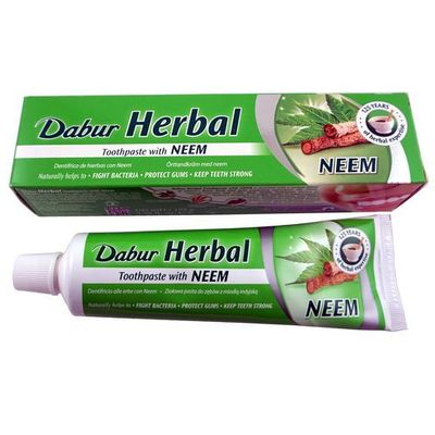 Pasty do zębów Dabur India LTD.