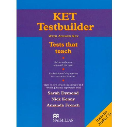 KET testbuilder with answer key + CD (9781405069762)
