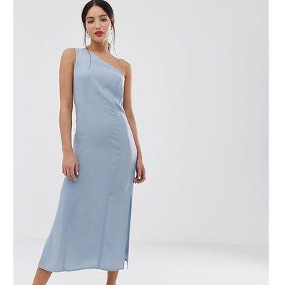 14f24d3ac2 suknie sukienki plisowana sukienka midi zielona 9247 ASOS Tall ...