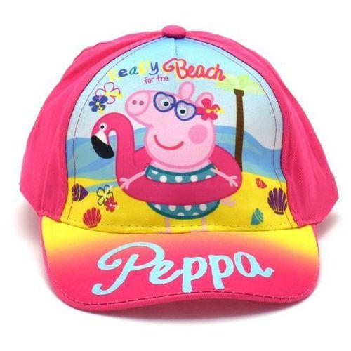 Licencja - inne Czapka z daszkiem dla dzieci świnka peppa fuksja - kolorowy ||fuksja