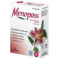 Kapsułki MENOPASS x 30 kapsułek