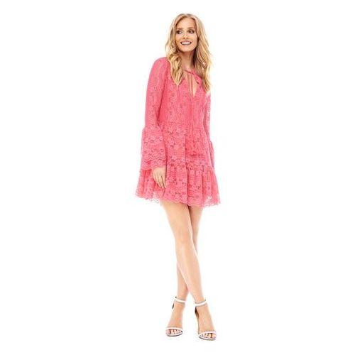 Sukienka Spirea w kolorze koralowym