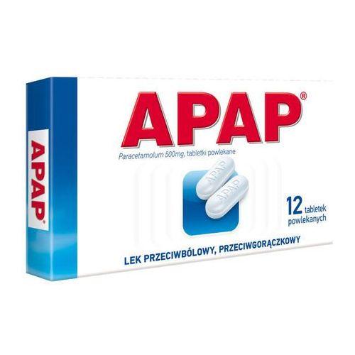 Tabletki APAP 0,5 x 12 tabletek