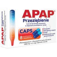 Kapsułki APAP Przeziębienie Caps x 8 kapsułek