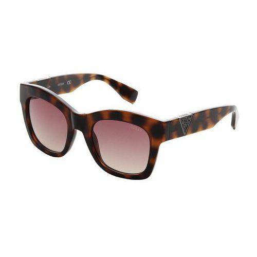 Guess Okulary przeciwsłoneczne Brązowy Okulary
