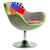 Halmar Fotel patchwork origami - styl skandynawski