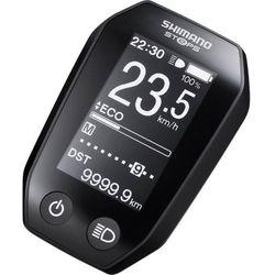 steps sc-e6010 wyświetlacz, black 2019 liczniki przewodowe marki Shimano