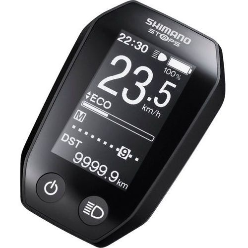 Shimano Steps SC-E6010 Wyświetlacz, black 2020 Liczniki przewodowe (4524667854142)