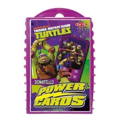 Tactic Gra żółwie ninja karty mocy donatello 40860 (6416739408606)