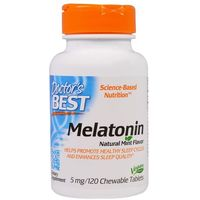 Tabletki Doctor's Best Melatonina, 5mg - 120 tabletek